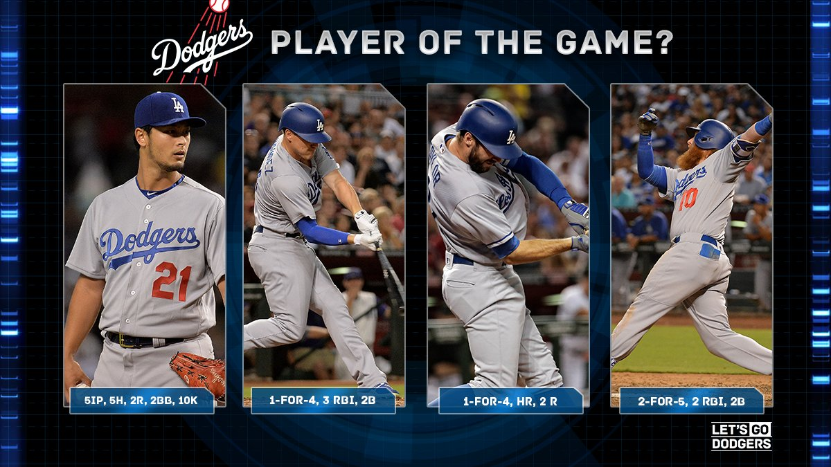 Who's your player of the game? https://t.co/Qi5O6tzhP2