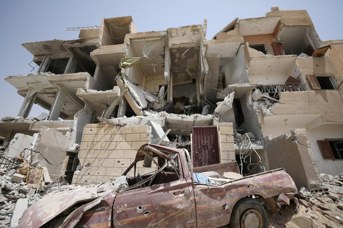 U.S. bombing, not ISIS, pushes final Christians out of Raqqa
