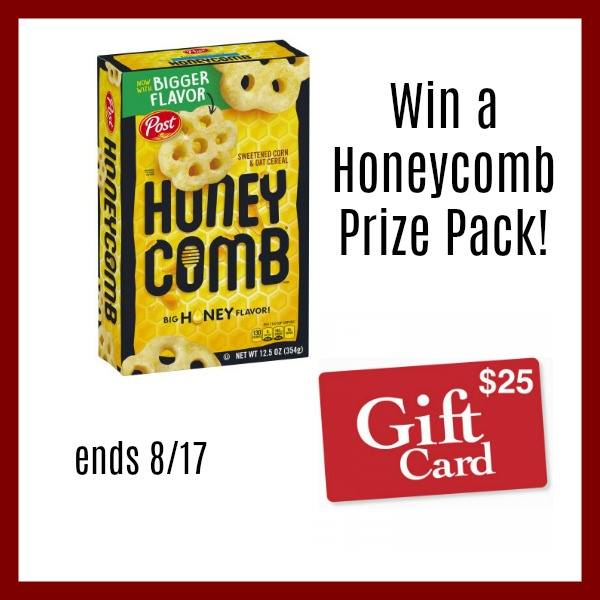 $25 Gift Card and a  Box of Honeycomb Cereal-1-US-Ends 8/17