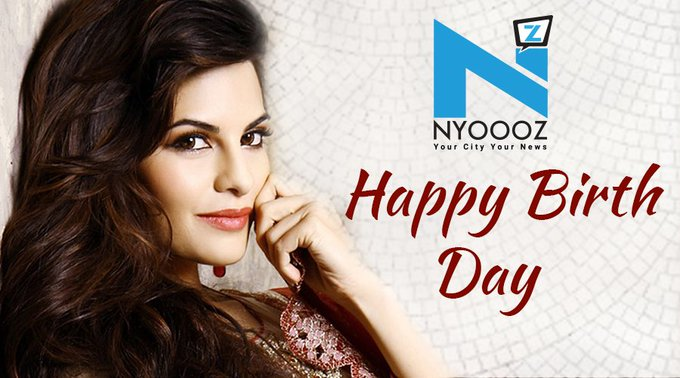 wishes Jacqueline Fernandez a very happy Birthday.