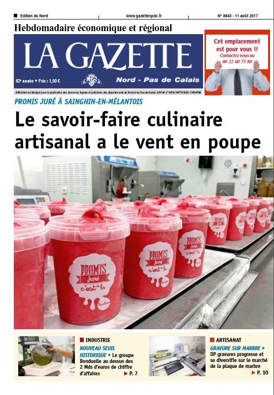 test Twitter Media - Retrouvez l'édition Nord de la Gazette en kiosque dès aujourd'hui ! https://t.co/5BuIVJwZMW