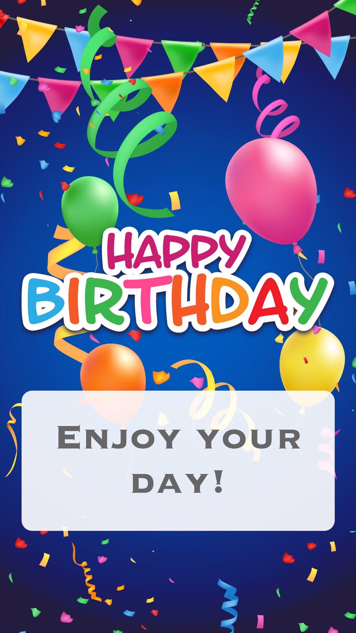 hogan Happy Birthday!