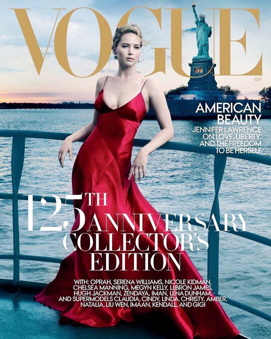 Happy 27th birthday to Jennifer Lawrence!