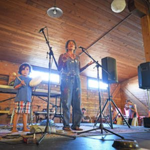 Environmental activists end anti-pipeline ride with concert