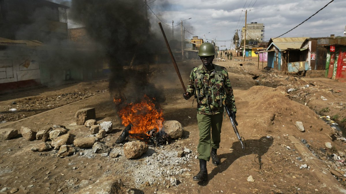 Kenya waits to hear final results of disputed election