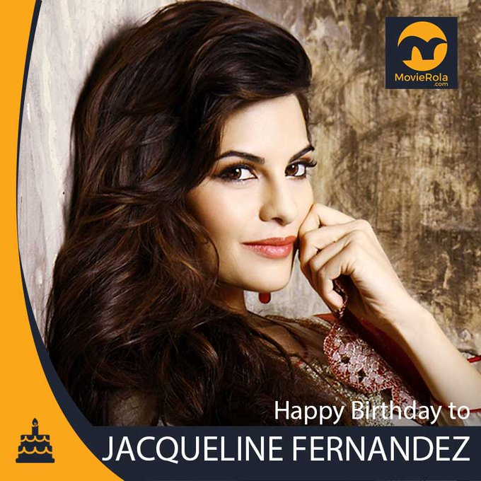 Happy Birthday to Jacqueline Fernandez.