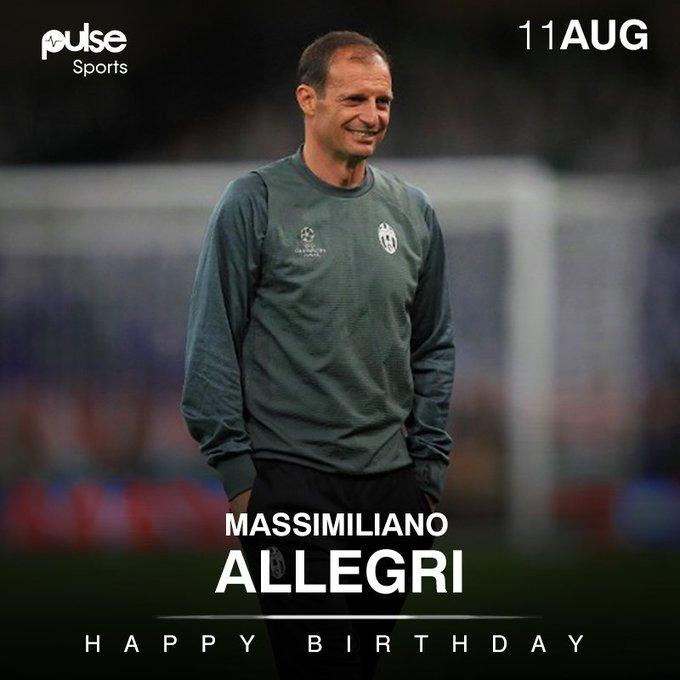 Happy Birthday to boss, Massimiliano Allegri!