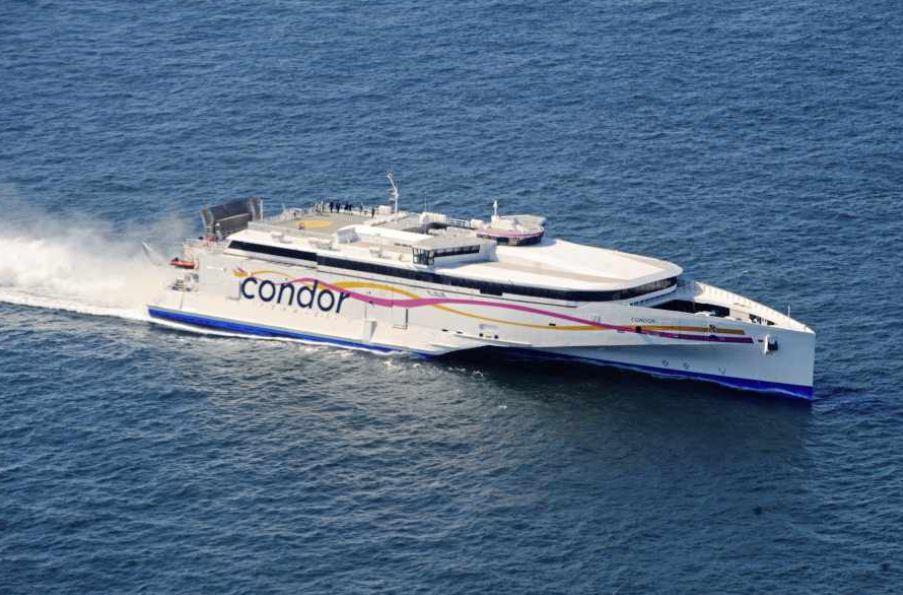 Condor alter high-speed ferry route « Guernsey Press