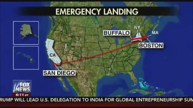 JetBlue flight makes an emergency landing in Buffalo after crew gets sick https://t.co/Dj9Y48qPun