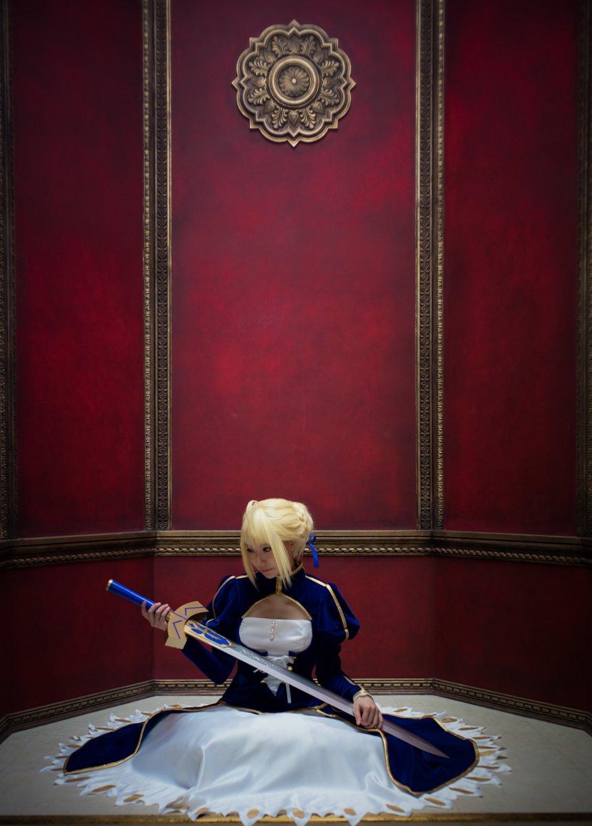 *Cosplay*Fate/stay nightアルトリア・ペンドラゴン-少女と騎士王の責務-Photo:Dさん#ハコス