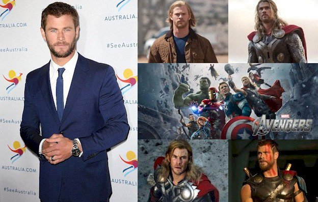 Hoy cumple 34 años Chris Hemsworth (Thor en   Happy Birthday