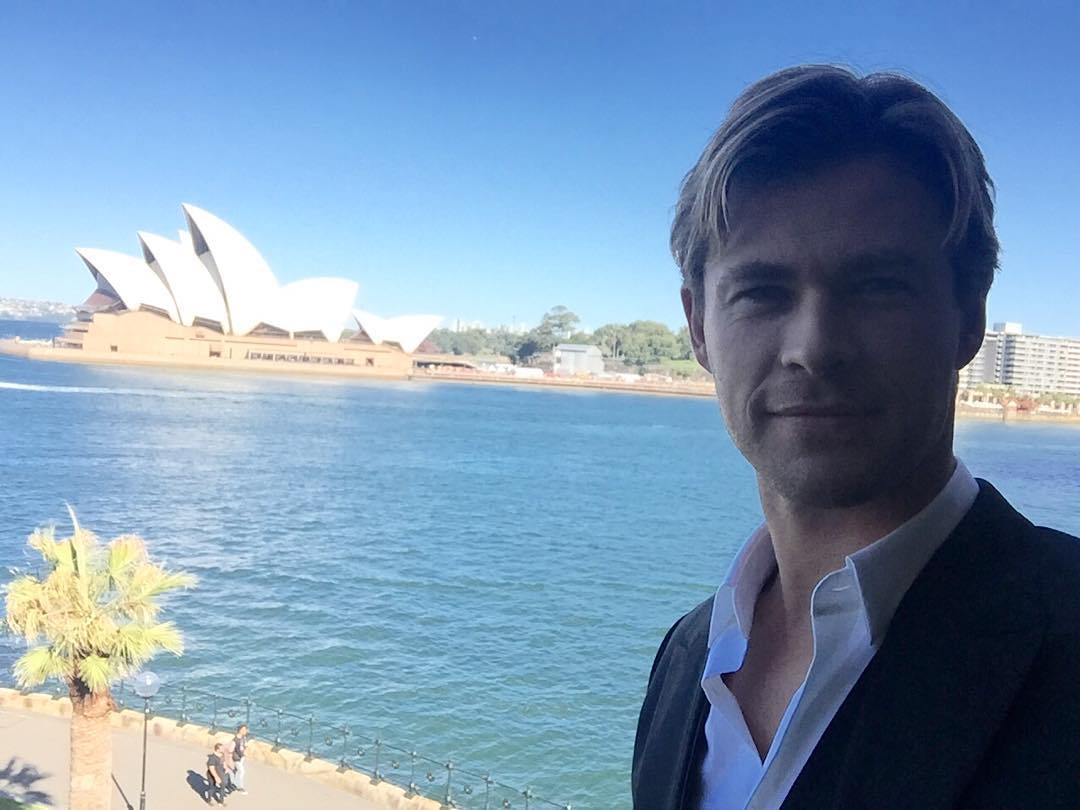 Happy birthday,Chris Hemsworth!You are a wonderful,talented and the most beautiful man in the world
