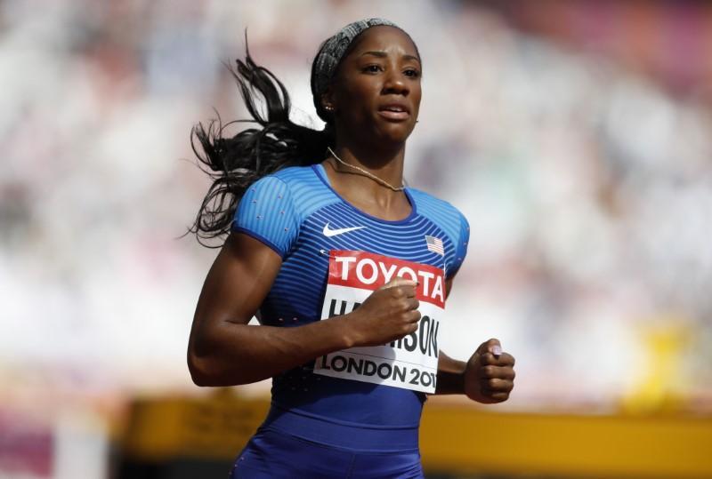 Athletics: Harrison impresses in sprint hurdles qualifying