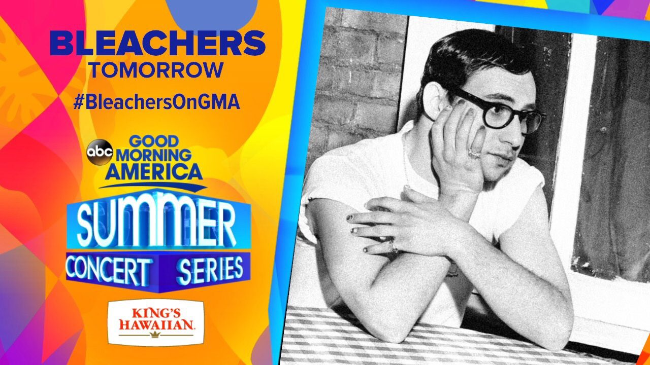 We have @bleachersmusic performing LIVE this morning on @GMA!  Tweet with #BleachersOnGMA all morning long! https://t.co/JuxjtTtaR7