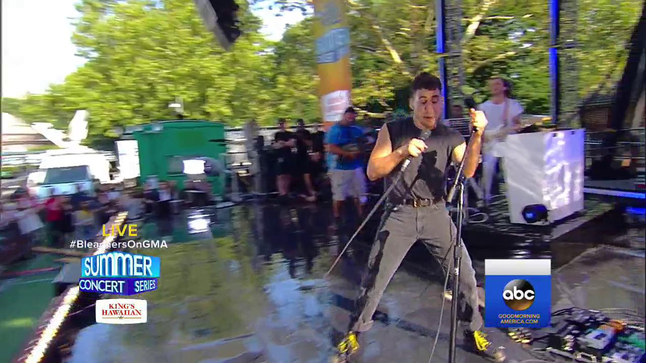 WATCH: @bleachersmusic perform 'I Wanna Get Better' on @GMA. https://t.co/jGJ0mfxdGD #BleachersOnGMA https://t.co/7CoigCjUyU