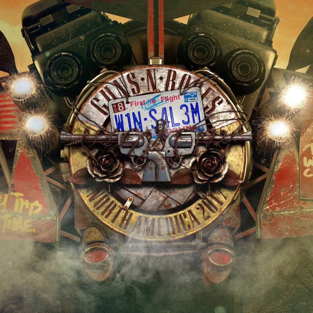 Let's do this Winston-Salem... #GnFnR #NotInThisLifetime Tour 2017 https://t.co/R8emcxgCHw https://t.co/OO62aPKojj