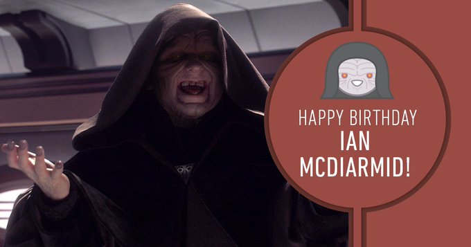 >> Happy Birthday, Ian McDiarmid!
