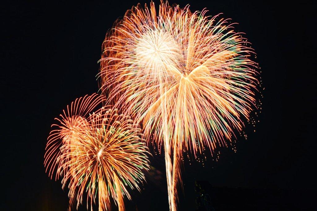 今回の三国花火大会は場所取りに失敗していいのが撮れなかった。本当に悔しい。来年は全力で行く。#グラスリップ