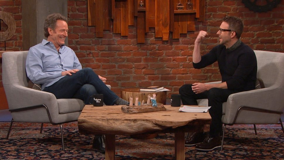 It's the Nerdist podcast version of @BryanCranston on @Talking with Chris @Hardwick! https://t.co/btmnGZ6qno https://t.co/YXuX5aee7Q