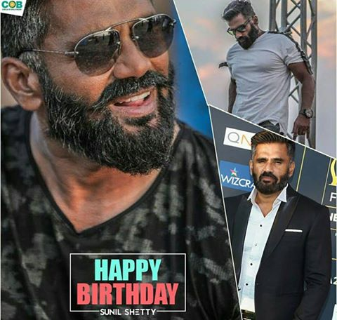 Happy Birthday to the \Anna\ of Bollywood Sunil Shetty