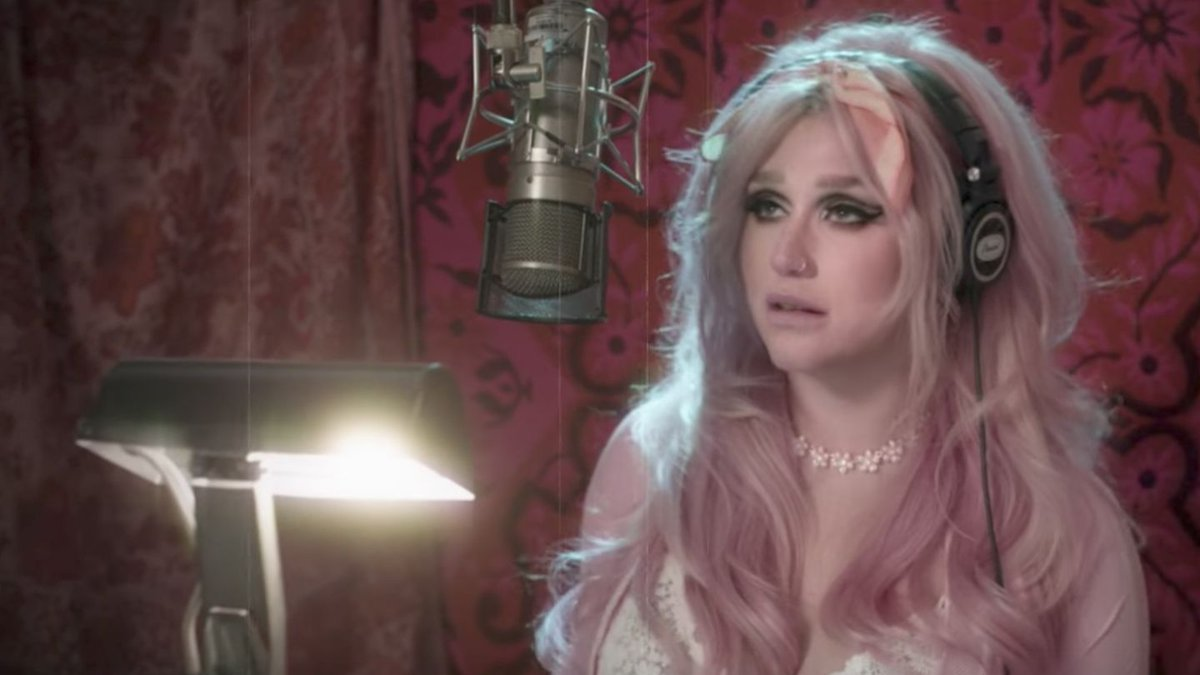 Kesha's Intimate 'Rainbow' Video Takes You Inside Her Studio
