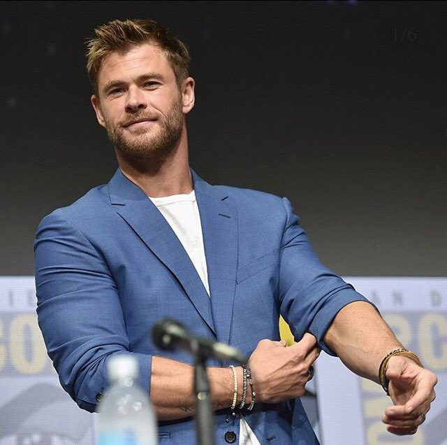 Happy Birthday to my husband Chris hemsworth
