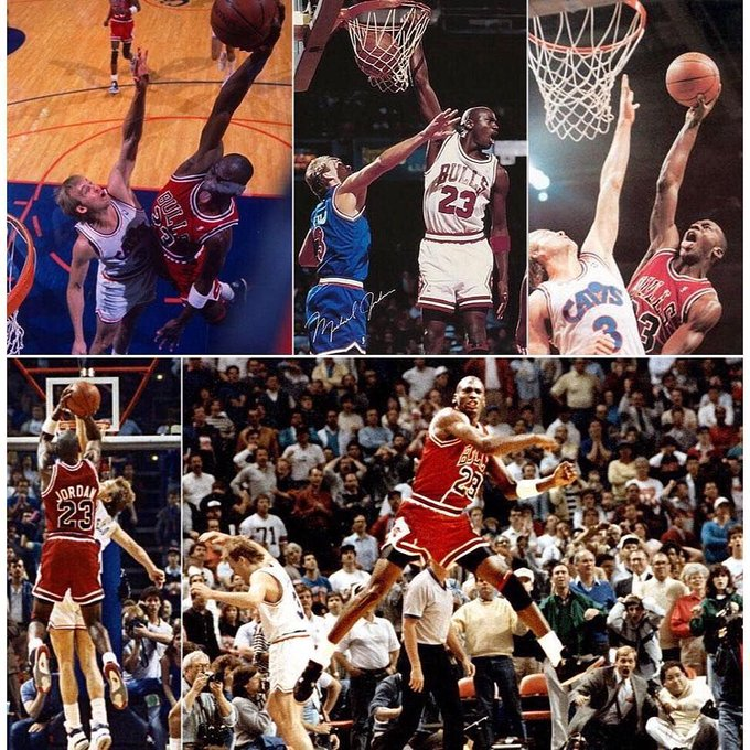 Happy Birthday Craig Ehlo, from Michael Jordan.