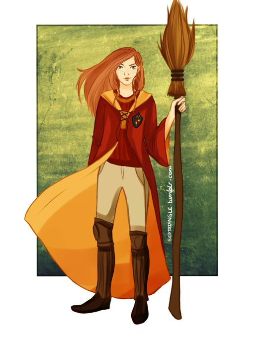 Happy birthday Ginny Weasley.