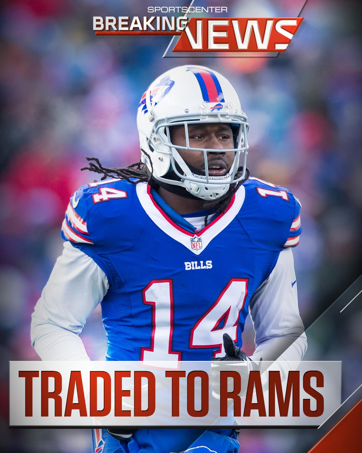 The Bills have traded WR Sammy Watkins to the Rams. https://t.co/9zyMbA8wA9