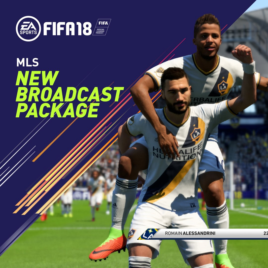 RT @EASPORTSFIFA: The new @MLS presentation package featuring @lagalaxy and @torontofc #FIFA18 #MLS https://t.co/IzywlM81eJ