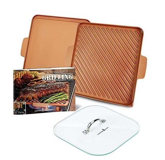 Copper Chef Grill/Griddle Set Giveaway Ends 8/11 @copper_chef @reviewsbyrosey