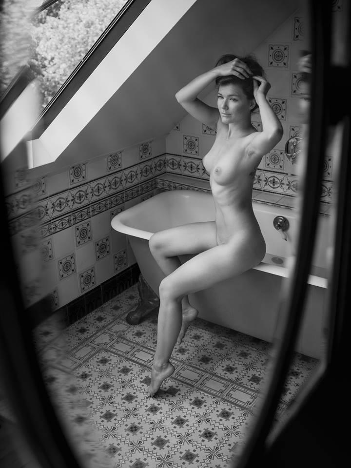 One from Belgium..#blackandwhite #blackandwhitephotography #nude #naked #nudeandhappy #bw #photography