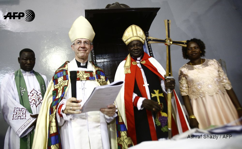 Archbishop of Canterbury declares Sudan new Anglican province