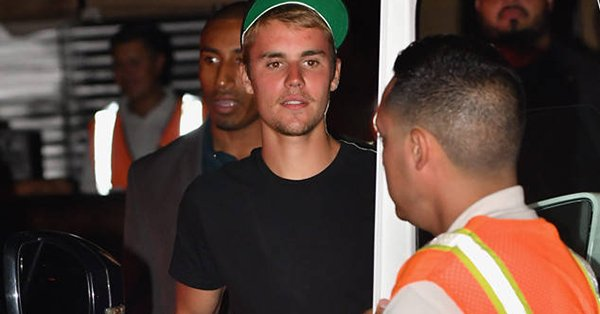 Justin Bieber stepped out wearing Purpose tour merch days after cancelling the tour.