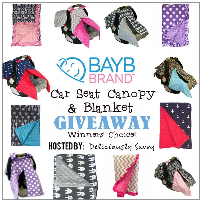 The BayB Brand Car Seat Canopy & Blanket Giveaway