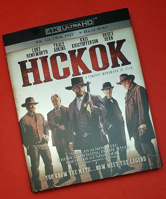 Giveaway – Hickok Blu-ray – 5 Winners – Ends 8/17/17