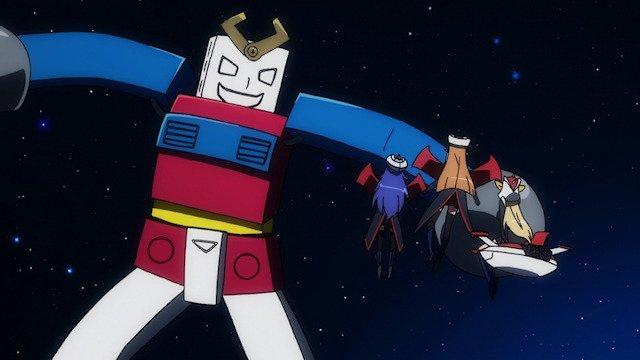 結構有名な話ですが、ロボットガールズZにコレジャナイロボが出てます。敵として。パイロットは、いまいち萌えない娘。攻撃を受