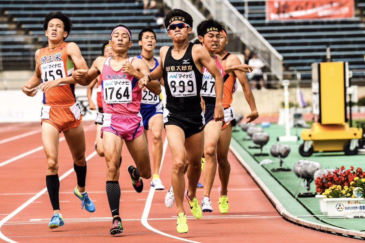 山形インターハイ 男子800m予選6...