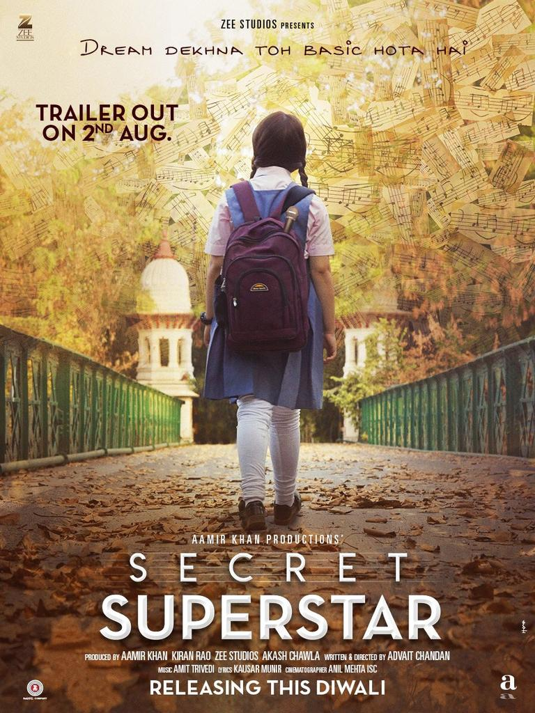 .#DreamDekhnaToBasicHotaHai ..superb catchline of #SecretSuperstar ...promo out on August 2nd!! https://t.co/T5u3s3ReQq