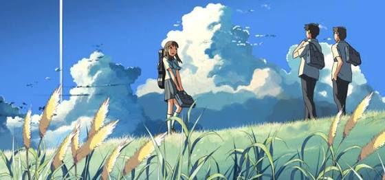 新海誠監督の「雲の向こう、約束の場所」寂しさから解放され世界が広がる感じが良かった☆ちょっと君の名はに似てるシーンもあっ