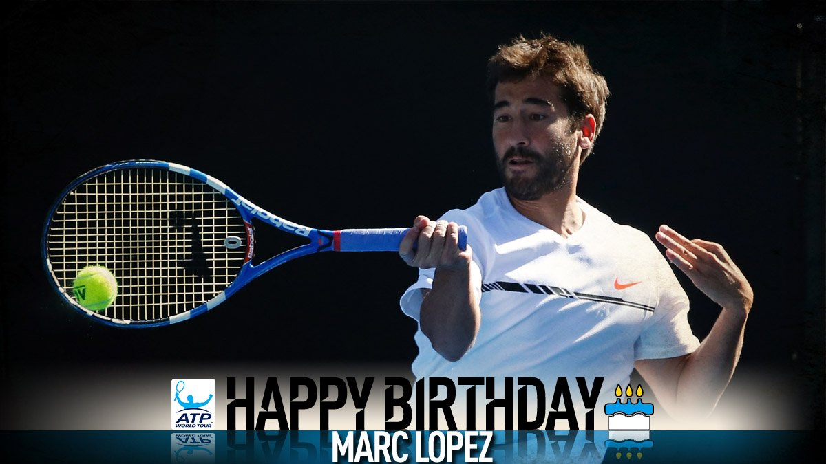 Happy 35th birthday @marclopeztarres! ������ Feliz Cumple! View #ATP Profile: https://t.co/axm4GrYQsa https://t.co/aR2BRUesvz