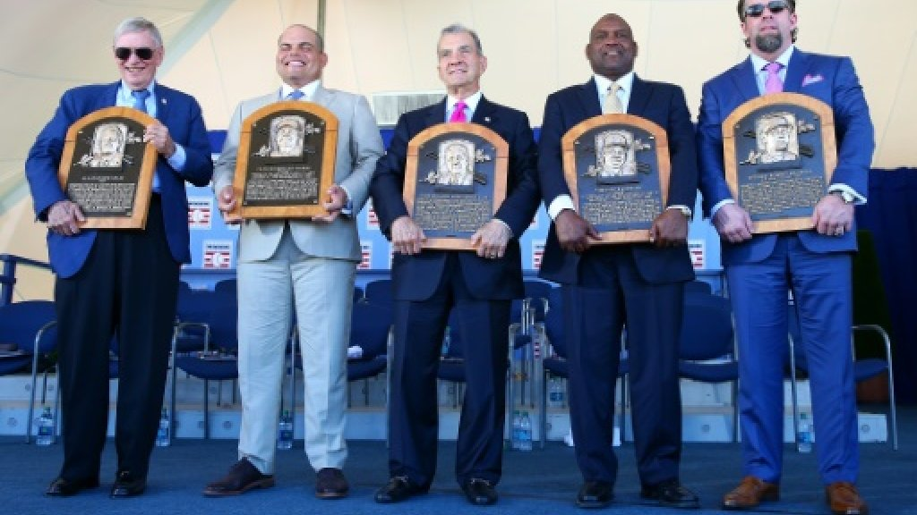 Baseball: Hall of Fame inductees say perseverance made it possible