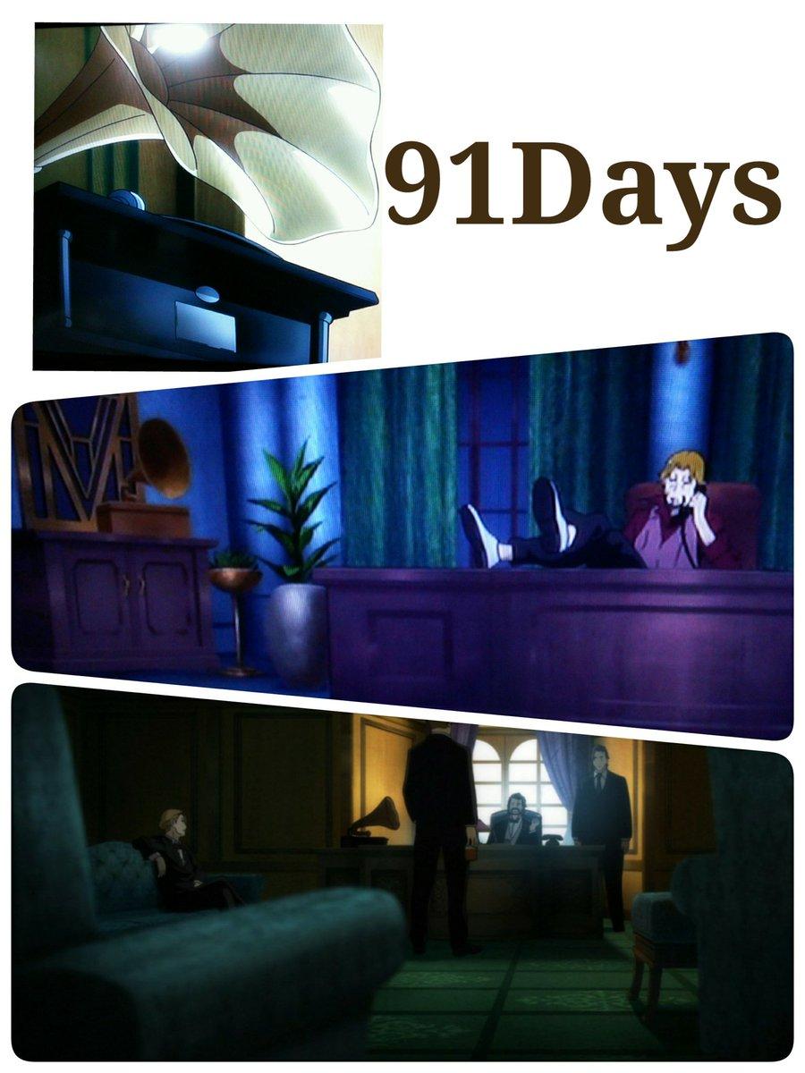 今日は蓄音器の日なので91Daysでの蓄音器を紹介。軽快なジャズや古典音楽のオペラなど各シーンに合ったBGMを彩っていま
