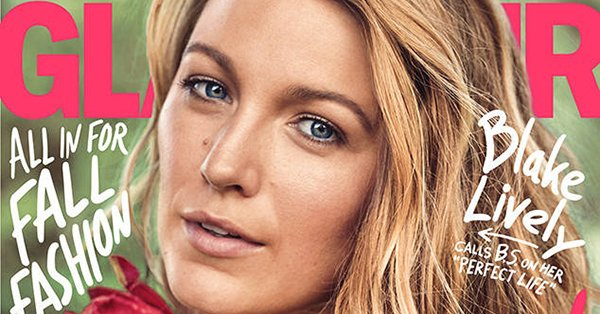 Blake Lively would love for people to stop thinking she has a perfect life: