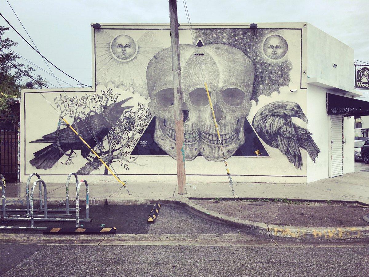 #WynwoodWalls #Miami #murals #streetart
