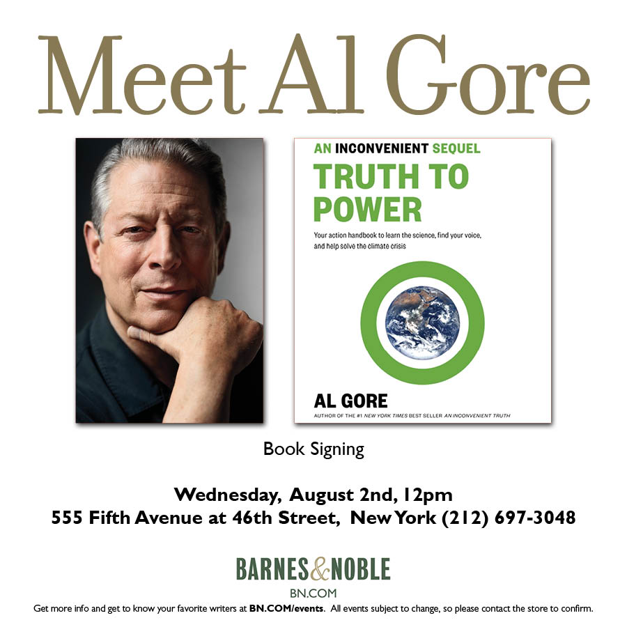 Last chance to get your signed copy of AN INCONVENIENT SEQUEL: TRUTH TO POWER at https://t.co/1OEPodVMR8 https://t.co/uDR0i0Lj0z