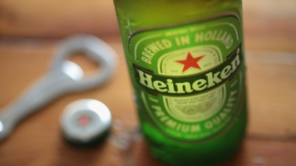 Heineken profits bubble amid warm weather