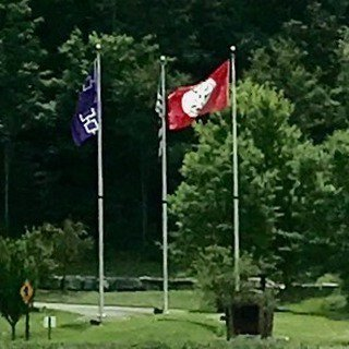 @Salamanca NY #Flag Displays with multiple custom flags flanking the #USFlag https://t.co/KRdJSLWAam https://t.co/DcxbCaktIK