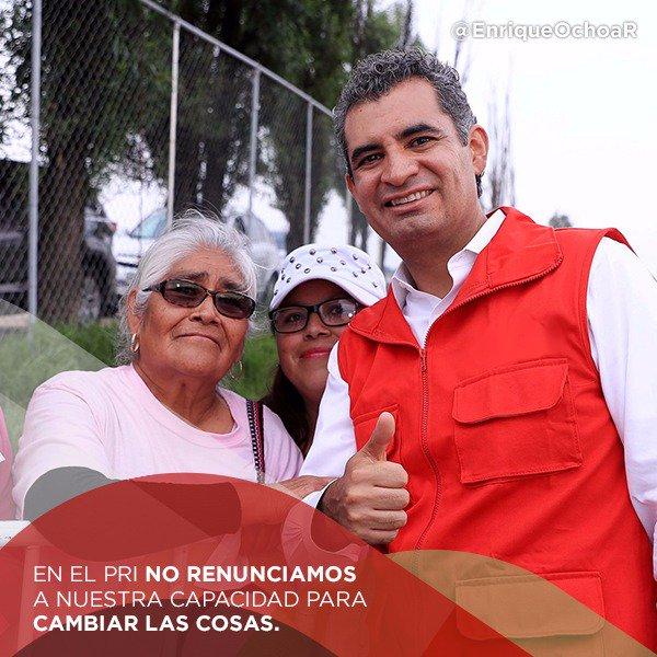 Somos un partido vanguardista, que trabaja todos los días por las y los mexicanos. #TuVozPRImero @EnriqueOchoaR https://t.co/ApLqEivLRL