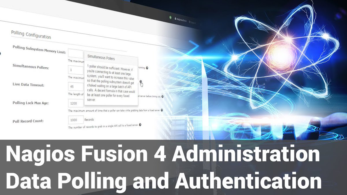 2. Nagios Fusion 4 - Administration - Data Polling And Authentication - Dauer: 2 Minuten, 39 Sekunden